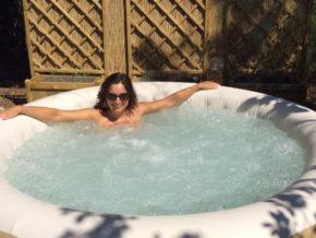 Nuova vasca idromassaggio naturista!